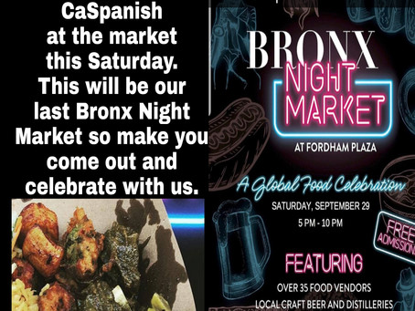 Sept 29th will be our last Market!