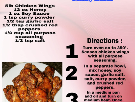 Our take on Dallas BBQs Sticky Wings