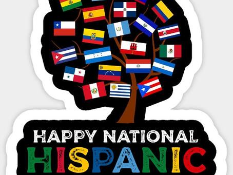 Happy Hispanic Heritage Month ✊🏼