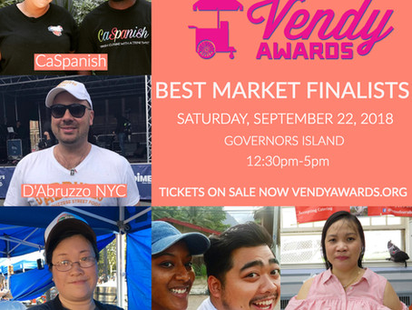 Vendy's Nominates CaSpanish for best Market Category!