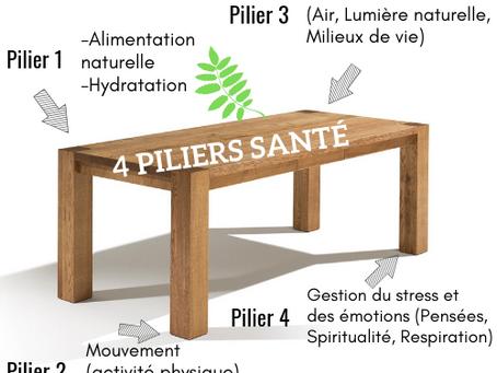LES 4 PILIERS DE LA SANTÉ POUR DÉMARRER L'ANNÉE EN BEAUTÉ