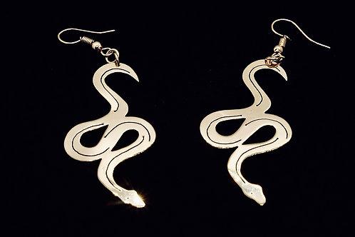 Boucles d'oreilles pendantes Les Serpents