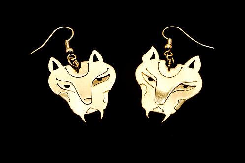Boucles d'oreilles  Les Lionnes