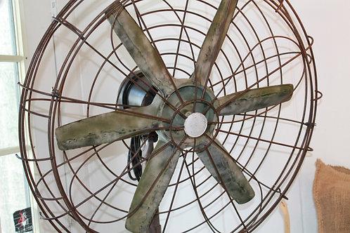 Industrial Vintage Floor Fan