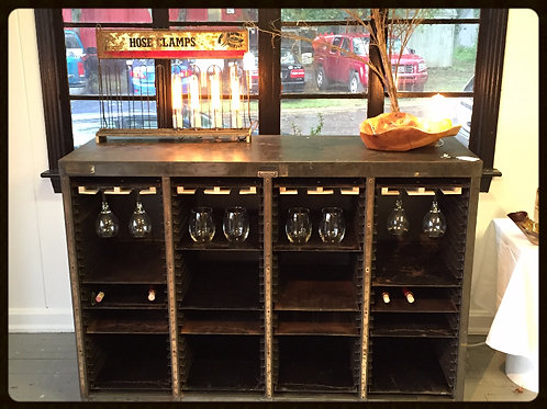 Industrial Vintage Entertainment Bar