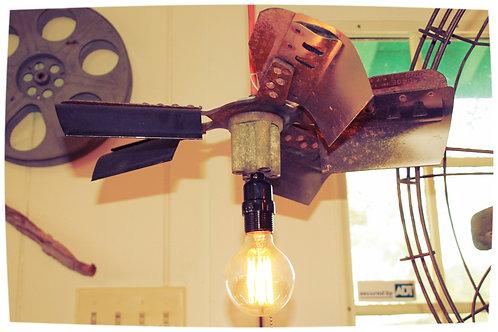 Vintage Fan Blade Swag Light/Pendant
