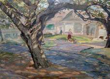 Elise Roome: Nature informed the Abita Springs Artist at Work