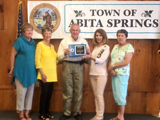 Town of Abita Springs wins Louisiana Garden Club Federation state Cleanest City title.
