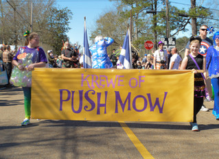 Push Mow Moved to Sunday at 1:00!