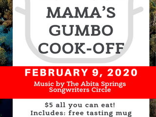 Not Your Mama's Abita Gumbo Cook-Off  2/9/2020