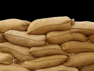 Sandbags in Abita Springs