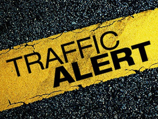 Notice of Road Delay