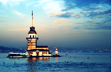 Maiden tower in Istanbul, sight-seeing during your FUE Hair Transplantation is free-of-charge