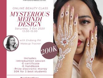 Mysterious Mehndi Design (Henna art) Online Beauty Class