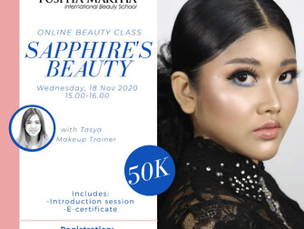 Sapphire's Beauty Online Beauty Class