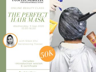 The Perfect Hair Mask (Hair Treatment) Online Beauty Class