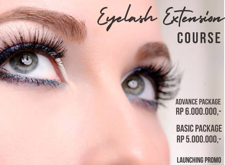 NEW! Eyelash extension class at Puspita Martha Jakarta!