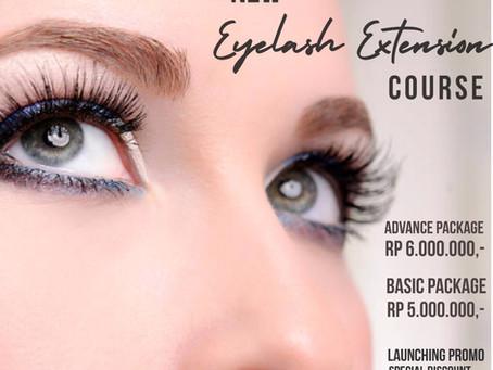 NEW! Eyelash extension class at Puspita Martha Jakarta!