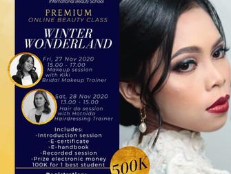 Winter Wonderland (Bridal Makeup & Hair do) Online Beauty Clas