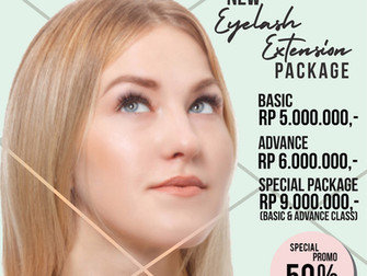 Special Promo - Eyelash Extension Package!