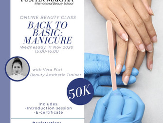 Back to Basic: Manicure Online Beauty Class