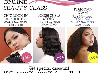 Get special discount FROM Rp 500.000 to ONLY Rp 420.000!