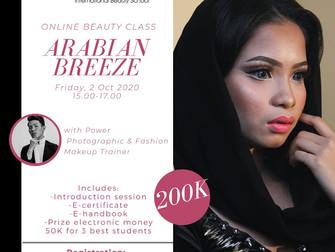 Arabian Breeze (Arabian Makeup Look) Online Beauty Class