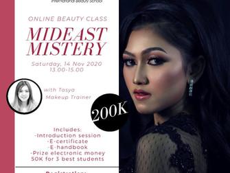 Mideast Mistery (Arabian Makeup) Online Beauty Class