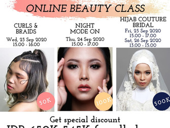 Get special discount FROM Rp 650.000 to ONLY Rp 545.000
