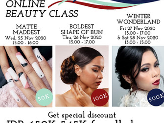 Get special discount FROM Rp 650.000 to ONLY Rp 545.000! 😍