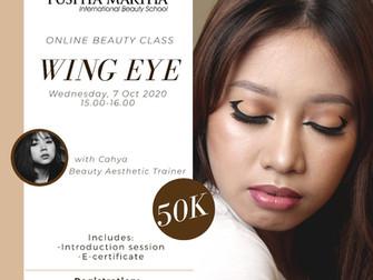Wing Eye (Eye Makeup) Online Beauty Class