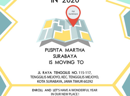 NOTICE - Puspita Martha Surabaya is moving!