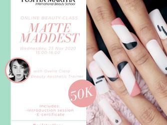 Matte Maddest (Nail Art) Online Beauty Class