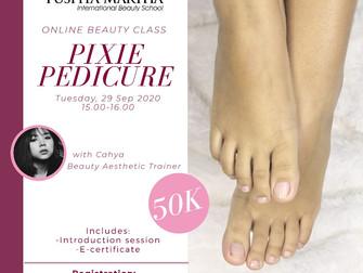 Pixie Pedicure Online Beauty Class