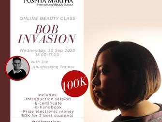 Bob Invasion (Haircutting) Online Beauty Class