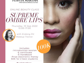 Supreme Ombre Lips Online Beauty Class