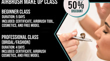 Special Promo - Airbrush Makeup Class!