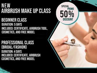 Special Promo - Airbrush Makeup Class!