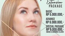 New in Puspita Martha, eyelash extension package!