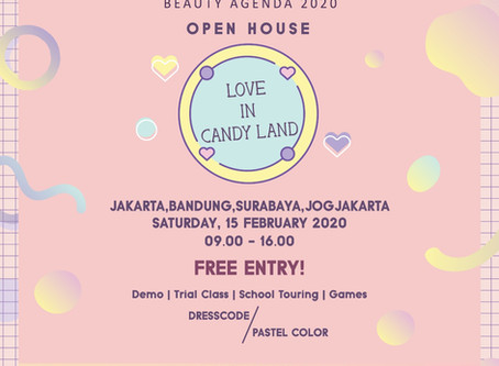 "You are invited to Puspita Martha's ""Love in Candy Land"" open house!"