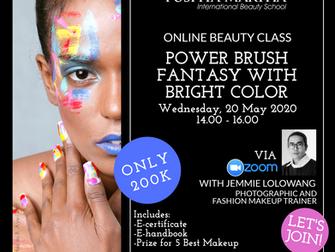 Join Puspita Martha Online Beauty Class!