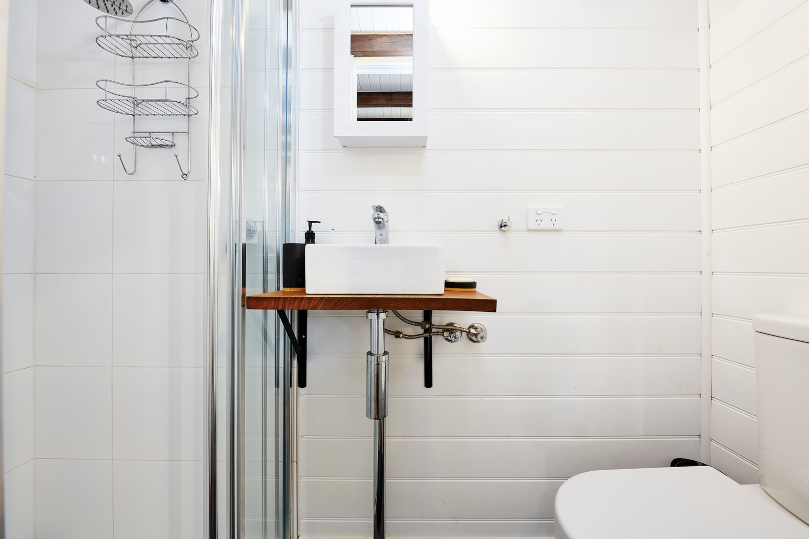 bathroom and sink