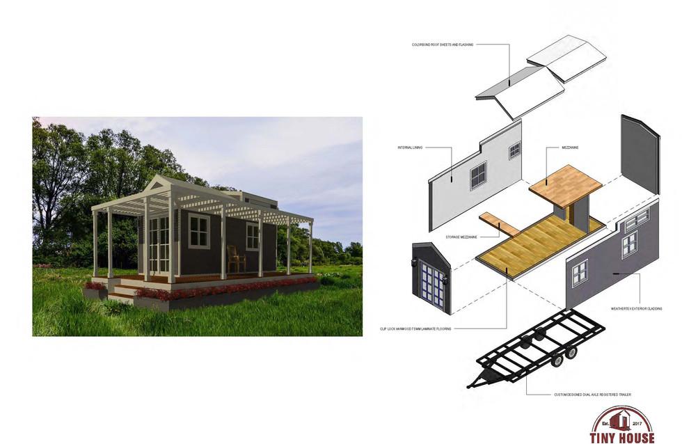 Great White Plans Tiny Homes Australia Hangan Tiny House