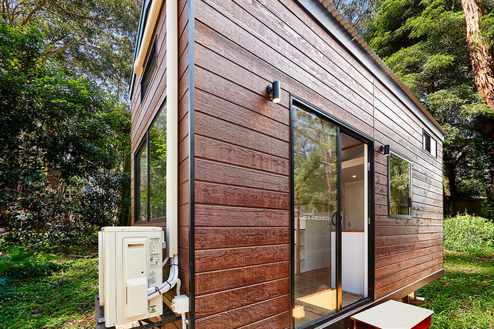 ourdoor exterior tiny home