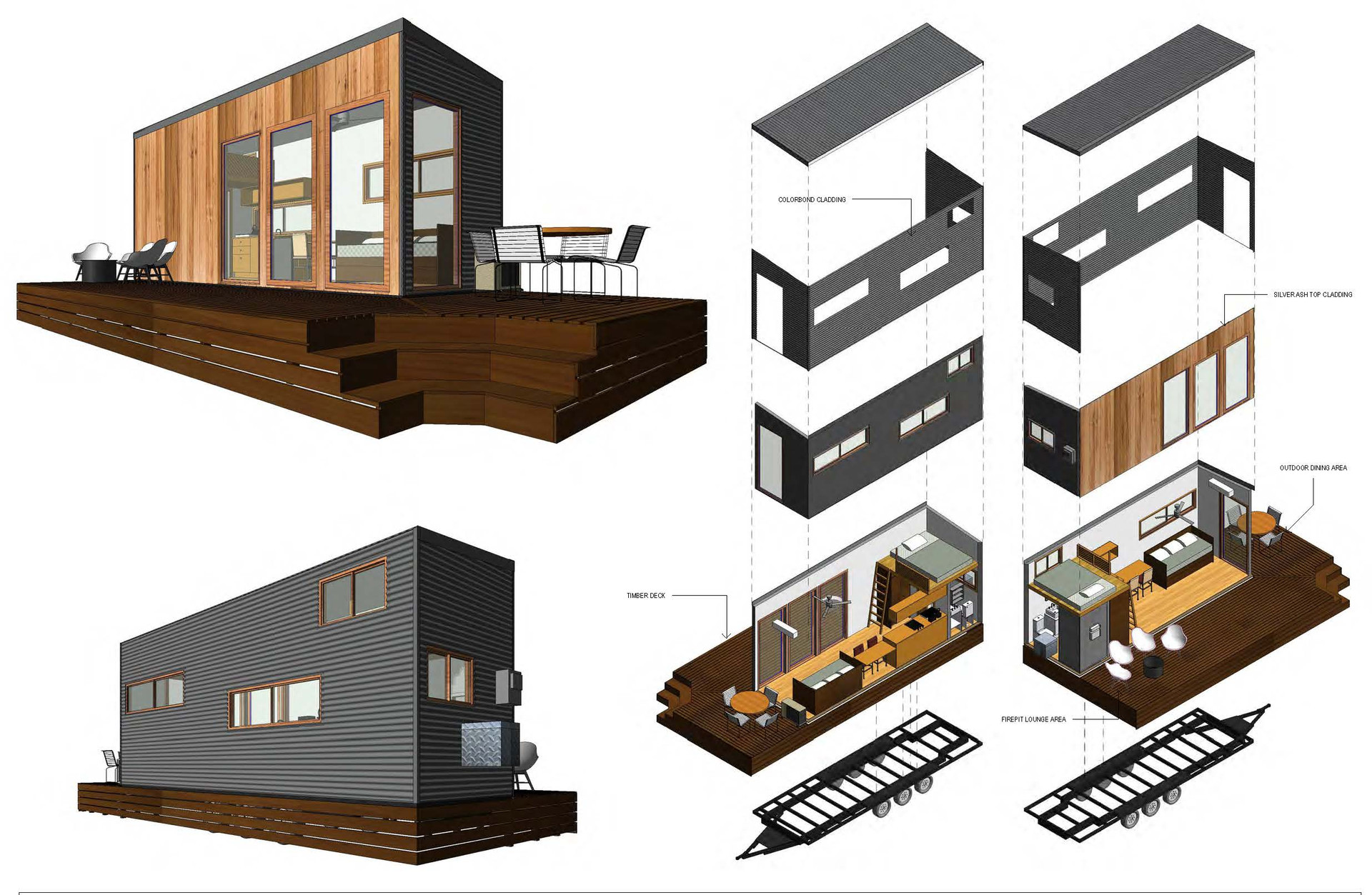Palm Valley Plans Tiny Homes Australia Hangan Steel