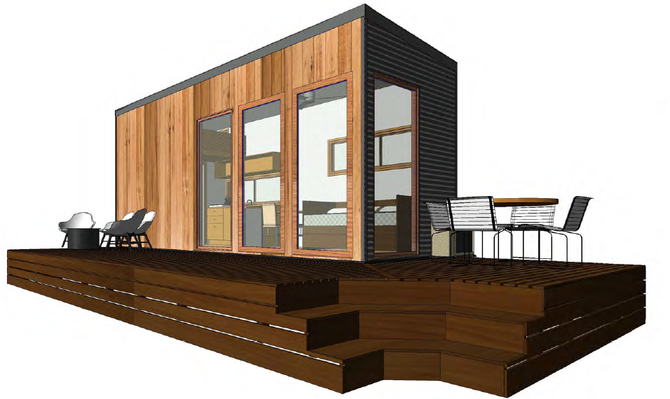 Palm Valley Plans Tiny Homes Australia Hangan