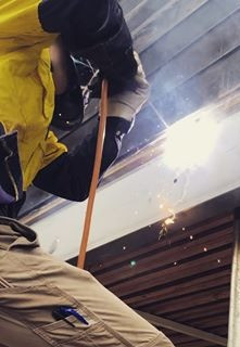 stick weld arc welding