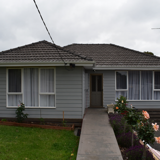 finished house weatherboard