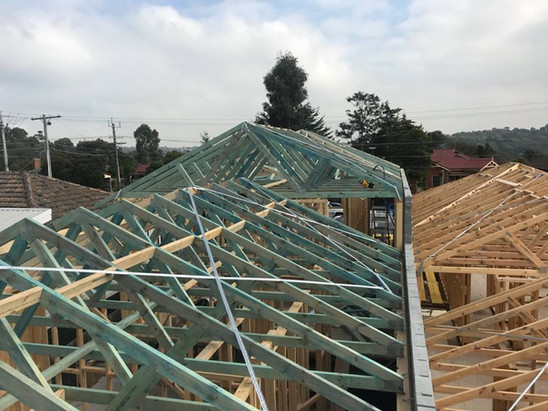 trusses house residential