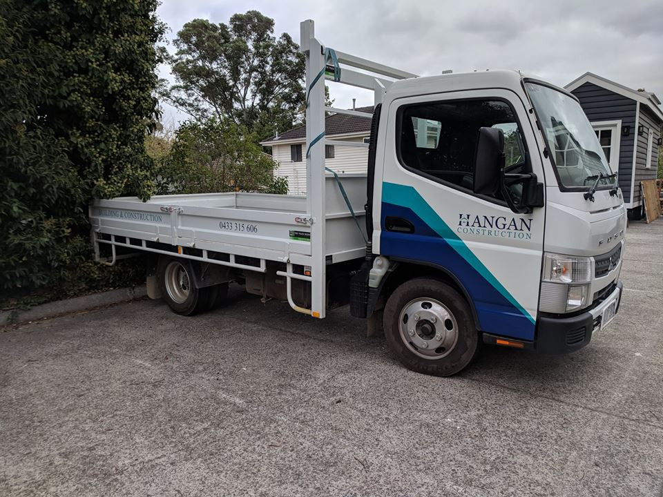 hangan vehicle truck for deliveries